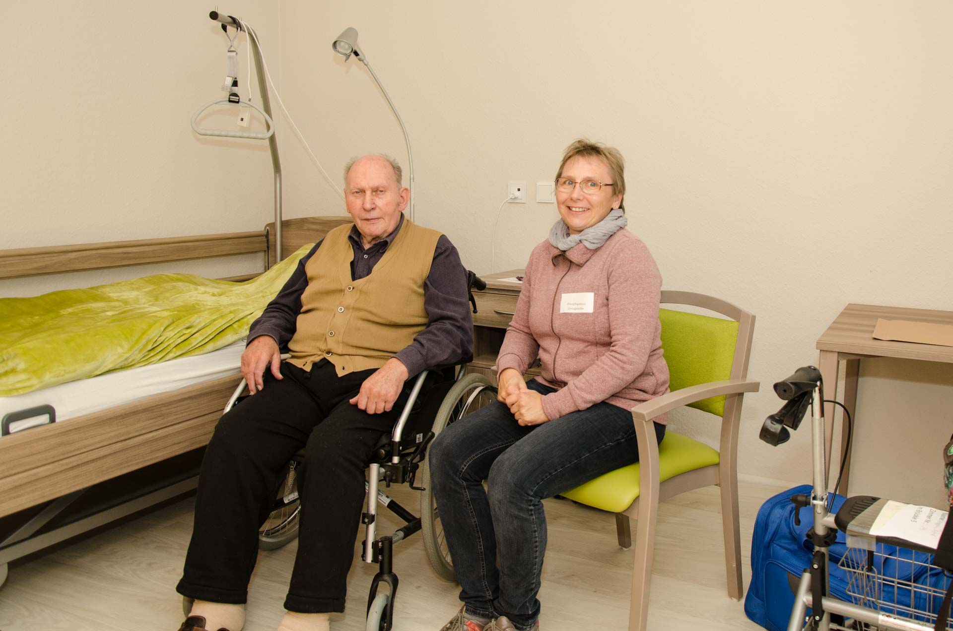 Am 25. Oktober 2017 zog das Evangelische Altenpflegeheim Bretten in den modernen Neubau im Seniorenzentrum