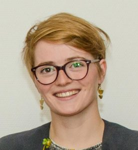 """Nancy Frehse, Initiatorin der studentischen Ehrenamtsgruppe """"Generation Grenzenlos"""", 2017"""