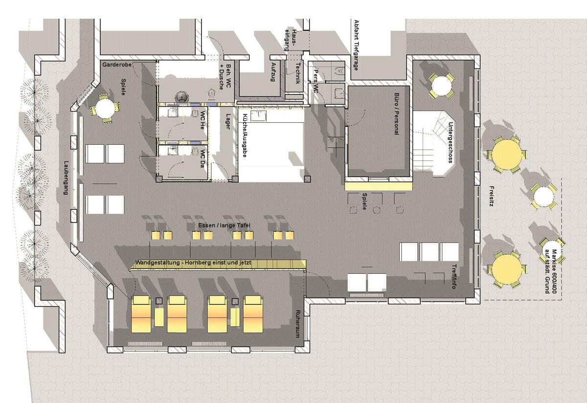 Die Tagespflege Hornberg bietet 15 Tagesgästen in den im Sommer 2018 neu gestalteten Räumlichkeiten direkt dem Hornberger Rathaus ein vielfältiges Betreuungsprogramm.