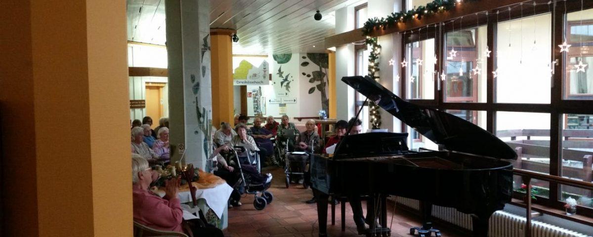 Adventskonzert im Haus Schloßberg