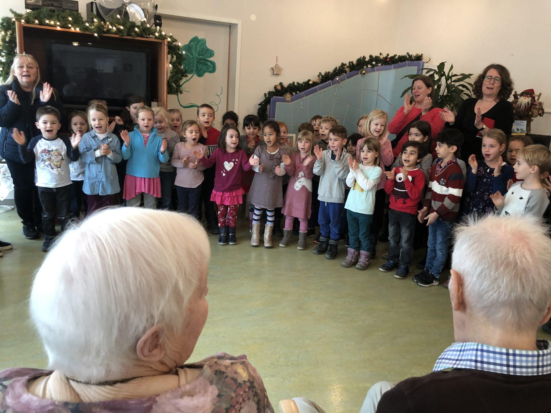 Kindergarten Regenbogen im Seniorenzentrum Gundelfingen