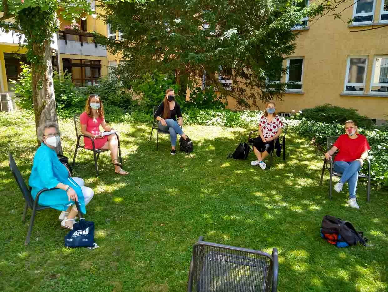 Begegnungsstätte Interview mit Studierenden