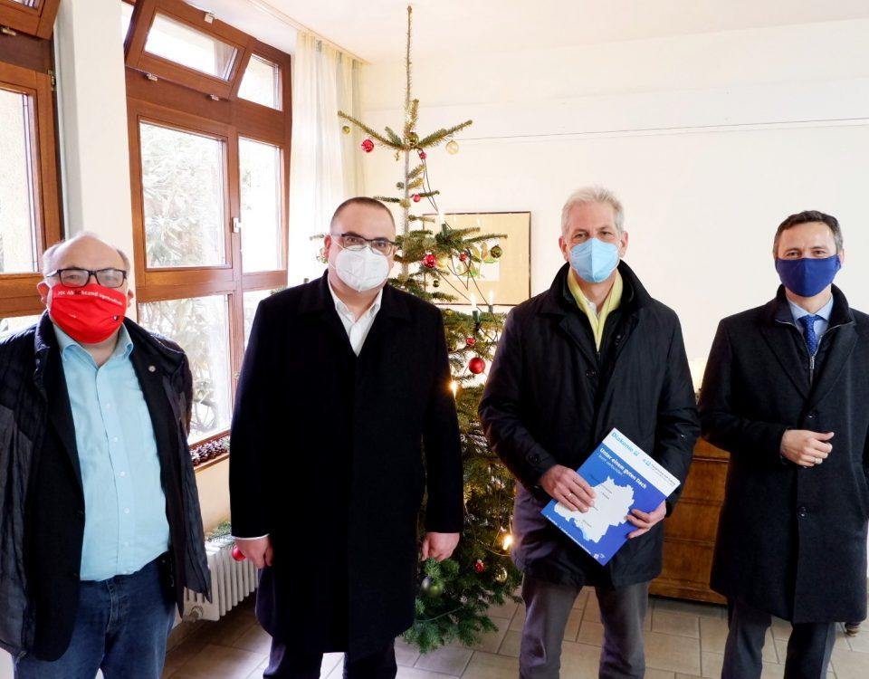 Besuch vom Stadtrat Dr. Klaus Schüle