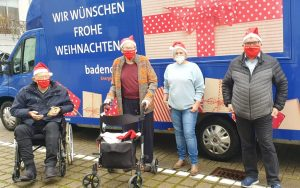 Badenova und Sc Freiburg im Seniorenzentrum Gundelfingen