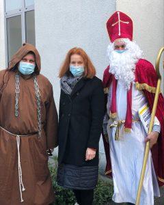 Nikolausbesuch im Seniorenzentrum Gundelfingen