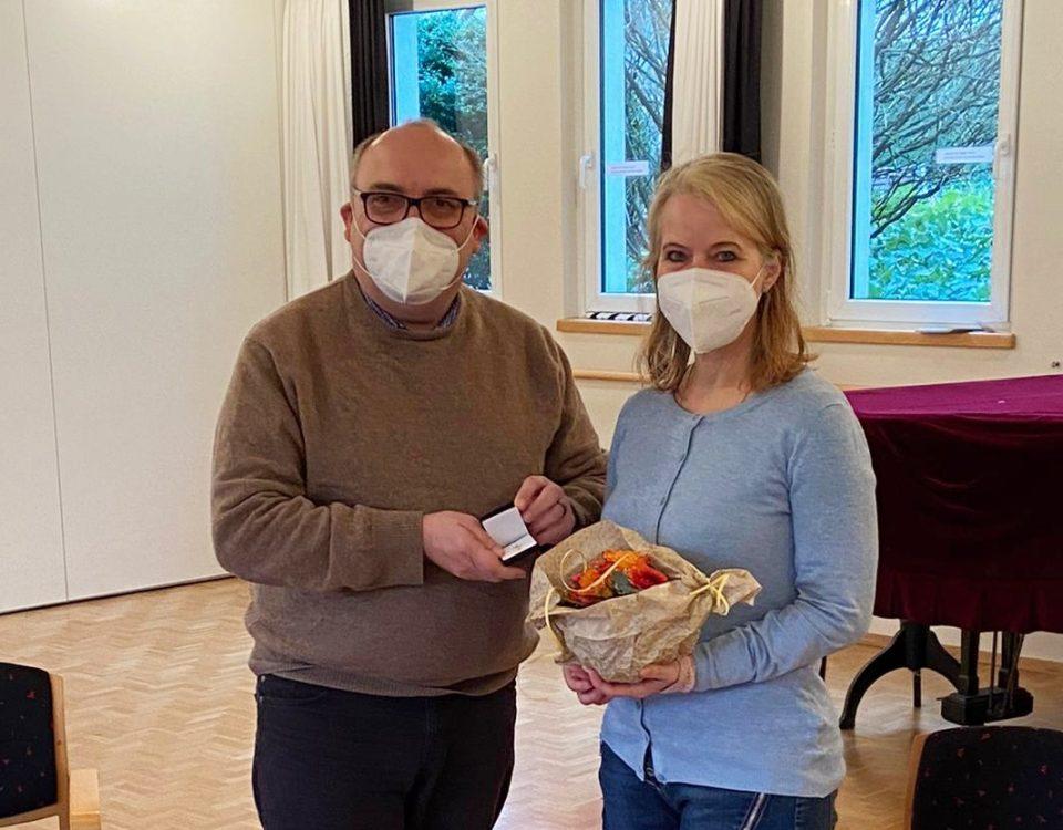 Kronenkreuz fuer Ursula Duelli