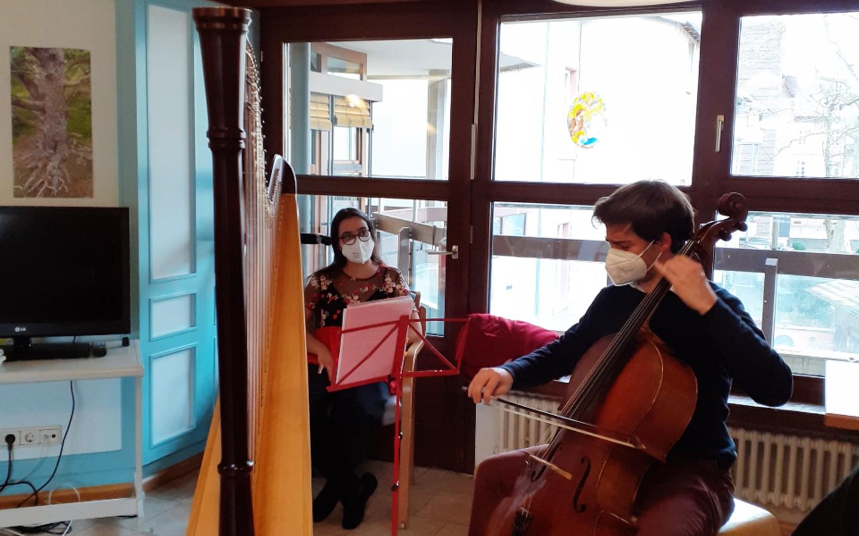 Live Music Now im Haus Schlossberg