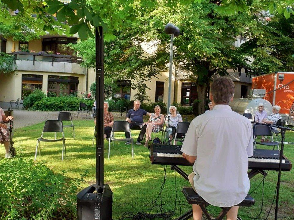 Konzert im Stiftspark 2