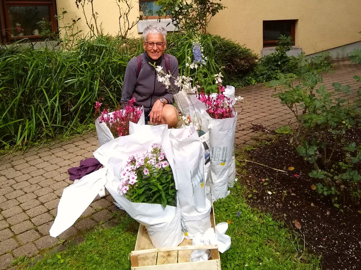 Blumenprojekt im Stiftspark