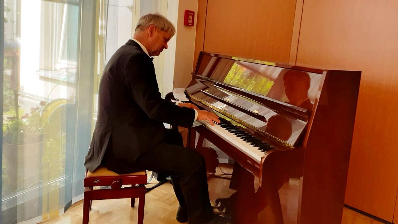 Pianisten Christian Kempa