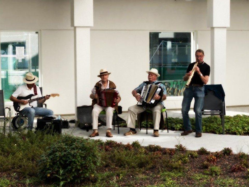 Musik Konzert im Atrium