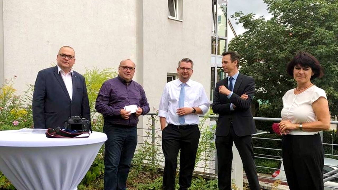 Scheckuebergabe Seniorenzentrum Gundeflingen